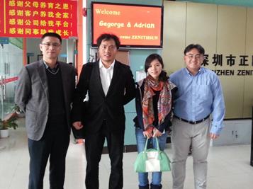 与新加坡客户成功合作